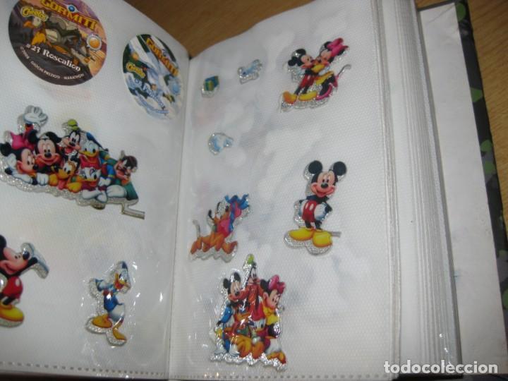 Pegatinas de colección: album con muchisimas pegatinas spiderman, mickey cars doraimon super heroes tanques - Foto 15 - 192099713