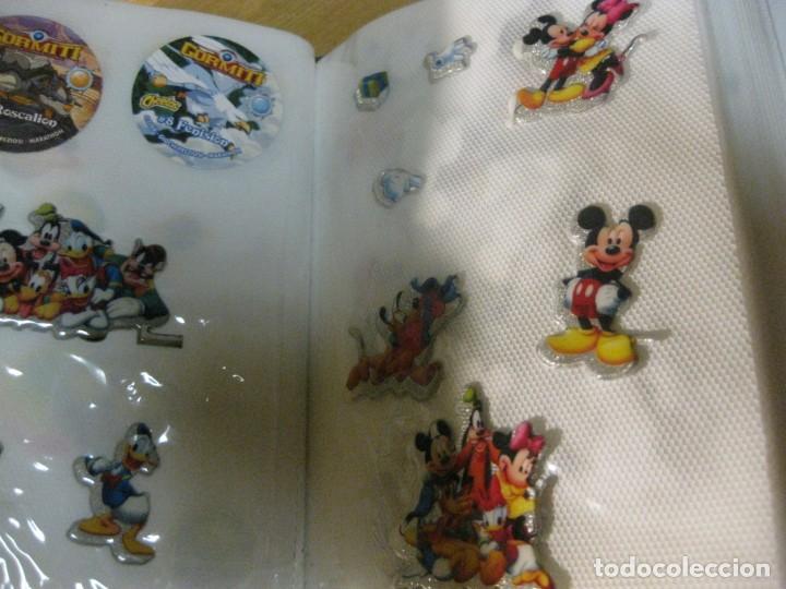 Pegatinas de colección: album con muchisimas pegatinas spiderman, mickey cars doraimon super heroes tanques - Foto 29 - 192099713