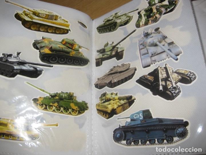 Pegatinas de colección: album con muchisimas pegatinas spiderman, mickey cars doraimon super heroes tanques - Foto 30 - 192099713