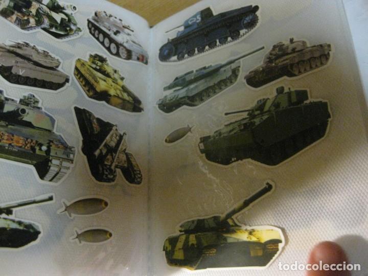 Pegatinas de colección: album con muchisimas pegatinas spiderman, mickey cars doraimon super heroes tanques - Foto 31 - 192099713