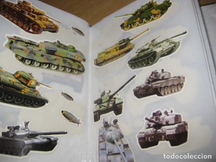 Pegatinas de colección: album con muchisimas pegatinas spiderman, mickey cars doraimon super heroes tanques - Foto 32 - 192099713