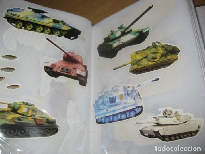 Pegatinas de colección: album con muchisimas pegatinas spiderman, mickey cars doraimon super heroes tanques - Foto 33 - 192099713