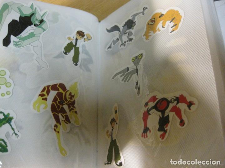 Pegatinas de colección: album con muchisimas pegatinas spiderman, mickey cars doraimon super heroes tanques - Foto 34 - 192099713