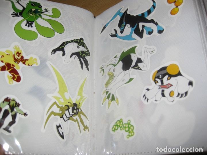 Pegatinas de colección: album con muchisimas pegatinas spiderman, mickey cars doraimon super heroes tanques - Foto 35 - 192099713