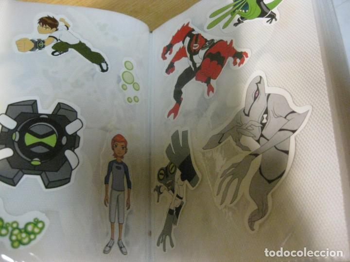 Pegatinas de colección: album con muchisimas pegatinas spiderman, mickey cars doraimon super heroes tanques - Foto 36 - 192099713