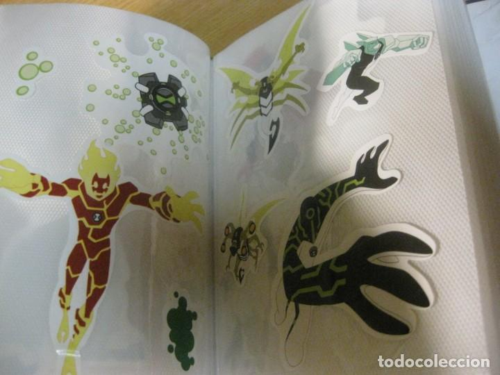 Pegatinas de colección: album con muchisimas pegatinas spiderman, mickey cars doraimon super heroes tanques - Foto 37 - 192099713