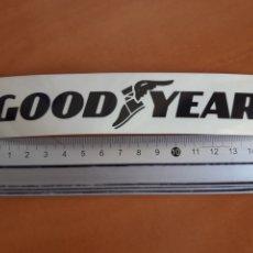 Pegatinas de colección: PEGATINA GOOD YEAR, AÑOS 80. Lote 193024937