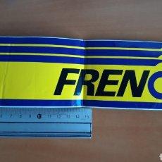 Pegatinas de colección: PEGATINA LIQUIDO DE FRENO FRENOIL, AÑOS 80. Lote 193025325