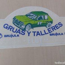 Adesivi di collezione: GRAN PEGATINA MOTOR - GRUAS Y TALLERES BRUJULA - 14 CM. Lote 193224390