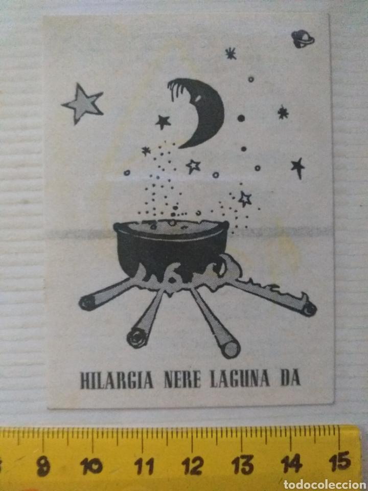 PEGATINA HILARGIA NERE LAGUNA DA AÑOS 70 - 80 (Coleccionismos - Pegatinas)
