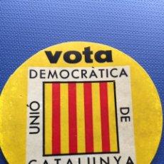 Pegatinas de colección: ANTIGUA Y ORIGINAL PEGATINA POLÍTICA, TRANSICIÓN POLITICA. Lote 194202865