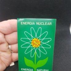 Pegatinas de colección: PEGATINA POLÍTICAS A LA ENERGÍA NUCLEAR. Lote 194396863