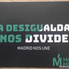 Pegatinas de colección: PEGATINA POLÍTICA MÁS MADRID. Lote 194638812