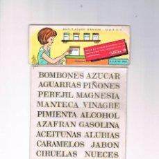 Pegatinas de colección: CALCOMANIAS ROTULACION MENAJE LETRAS SERIE R M ORTEGA NUEVA SIN ABRIR. Lote 194726385