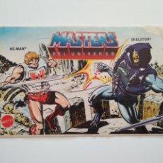 Pegatinas de colección: PEGATINA MASTERS DEL UNIVERSO - HE-MAN Y SKELETOR 1986 MATTEL. Lote 194737467