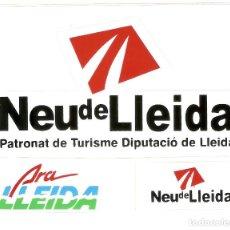 Pegatinas de colección: PEGATINA DIPUTACION DE LLEIDA. Lote 194875086