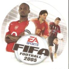 Pegatinas de colección: PEGATINA EA SPORTS FIFA 2005. Lote 194876500