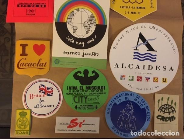 Pegatinas de colección: Lote 15 Pegatinas publicidad, de colección. - Foto 2 - 194891527