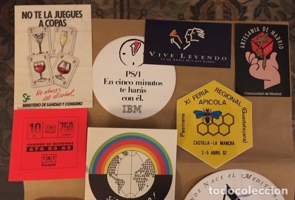 Pegatinas de colección: Lote 15 Pegatinas publicidad, de colección. - Foto 3 - 194891527