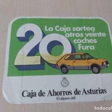 Adesivi di collezione: PEGATINA MOTOR - SEAT 127 FURA - LA CAJA SORTEA 20 COCHES - 15 CM. Lote 195062451