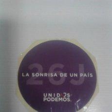 Pegatinas de colección: PEGATINA UNIDOS PODEMOS.. Lote 195113398