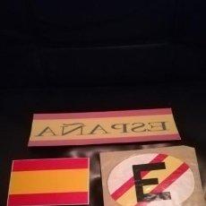 Pegatinas de colección: LOTE PEGATINAS PATRIOTICAS DE ESPAÑA.. Lote 195153825