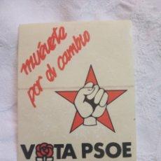Pegatinas de colección: PEGATINA POLÍTICA PSUC TRANSICIÓN.SOCIALISTA.PSP.PCE.CCOO.ORT LCR.PCOE.MCE.PTE.CNT.OIC.PSOE. Lote 195266510