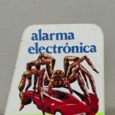 Pegatinas de colección: PEGATINA IDESA ALARMA ELECTRÓNICA COCHES. Lote 195345523