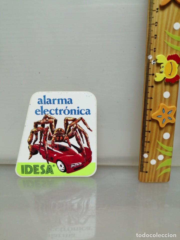 Pegatinas de colección: PEGATINA IDESA ALARMA ELECTRÓNICA COCHES - Foto 2 - 195345523