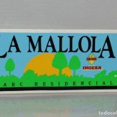 Pegatinas de colección: PEGATINA PARC RESIDENCIAL LA, MOLLOLA ESPLUGUES DE LLOREGAT. Lote 195345575