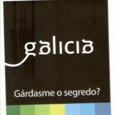 Pegatinas de colección: PEGATINA GALICIA - GÁRDASME O SEGREDO?. Lote 195481348