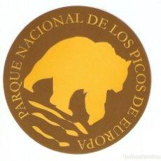 Pegatinas de colección: PEGATINA PARQUE NACIONAL DE LOS PICOS DE EUROPA. Lote 195481583