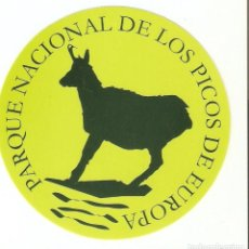 Pegatinas de colección: PEGATINA PARQUE NACIONAL DE LOS PICOS DE EUROPA. Lote 195481616