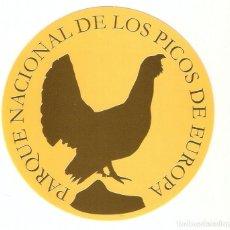 Pegatinas de colección: PEGATINA PARQUE NACIONAL DE LOS PICOS DE EUROPA. Lote 195481683