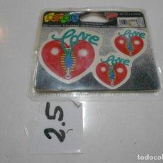 Pegatinas de colección: ANTIGUA PEGATINA VINTAGE AÑOS 90 - LOVE - ENVIO INCLUIDO A ESPAÑA. Lote 198145873