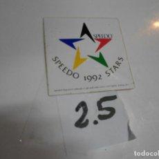 Pegatinas de colección: ANTIGUA PEGATINA VINTAGE AÑOS 90 - SPEEDO - ENVIO INCLUIDO A ESPAÑA. Lote 198149767