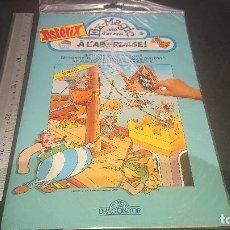 Pegatinas de colección: ALBUM DE PEGATINAS DE ASTERIX SIN ABRIR 1991 , A LABORDAGE - FIX MAGIC. , LEER DESCRIPCION. Lote 198379927