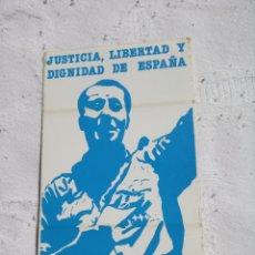 Pegatinas de colección: PEGATINA POLÍTICA TRANSICIÓN CEDADE. FALANGE.FUERZA NUEVA.FRANCO.FRENTE NACIONAL.ABORTO.UCD.CDS.AP.P. Lote 200237053