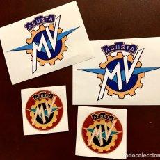 Pegatinas de colección: MV AGUSTA PEGATINAS. Lote 201908675
