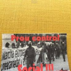 Pegatinas de colección: PEGATINA POLÍTICA,SINDICALISTA,CGT,EXTREMA IZQUIERDA,IZQUIERDA,ANARQUISTA,COMUNISTA,COLECCIONISMO. Lote 202391800
