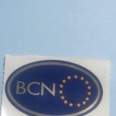 Pegatinas de colección: ANTIGUA PEGATINA BANDERA,ESCUDO DE BARCELONA,UNIÓN EUROPEA,BCN. Lote 202544731