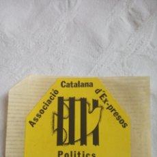 Pegatinas de colección: PEGATINA POLÍTICA PSUC TRANSICIÓN.COMUNISTA.PCE.CCOO.ORT LCR.PCOE.MCE.PTE.CNT.OIC.PSOE. Lote 202675906