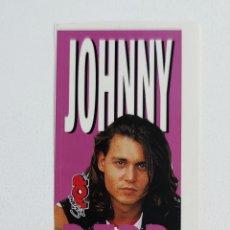 Pegatinas de colección: SUPER POP ADHESIVO JOHNNY DEPP. Lote 203010161
