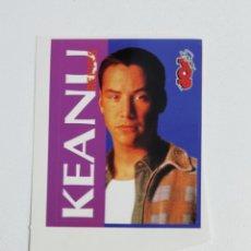Pegatinas de colección: SUPER POP ADHESIVO KEANU REEVES. Lote 203010393