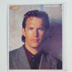Pegatinas de colección: SUPER POP ADHESIVO KEVIN COSTNER. Lote 203010466