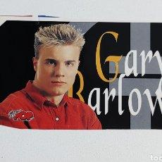 Pegatinas de colección: SUPER POP ADHESIVO GARY BARLOW. Lote 203010506