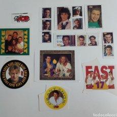Pegatinas de colección: SUPER POP ADHESIVOS AÑOS 90. Lote 203010557