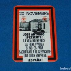 Autocollants de collection: (P11) PEGATINA POLÍTICA - 20 NOVIEMBRE JOSE ANTONIO PRESENTE. Lote 203358422