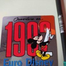 Pegatinas de colección: PEGATINA EURO DISNEY. Lote 204008267