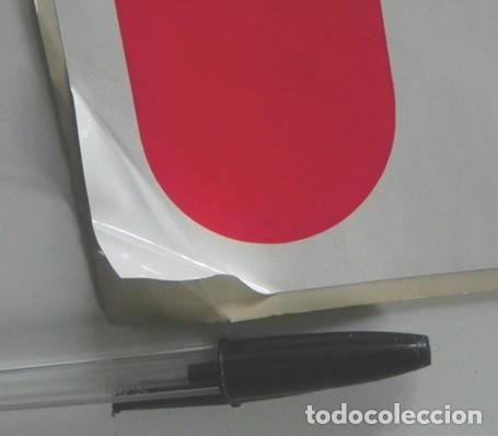 Pegatinas de colección: PEGATINA GRAN TAMAÑO FRIGO 33 X 31 ESTILO PEQUEÑO CARTEL DE TIENDA PUBLICIDAD LOGOTIPO MARCA HELADOS - Foto 3 - 204436501
